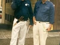 1999 07 11 Bezirksturnfest Neumarkt Grosskonzert Begrüßung mit Schöndorfer Harald