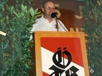 1999 07 11 Bezirksturnfest Neumarkt Schlussfeier Begrüßung