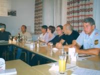 2000 06 29 Turnerheim Letzte Turnratsitzung im alten Sitzungszimmer