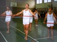 2000 07 15 Gmunden 12 LTF ÖTB OÖ Vereinswettturnen Bandgymnastik Gruppe