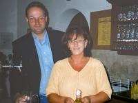 2000 07 20 Turnfest Nachlese Turnerheim Obmann mit Gattin