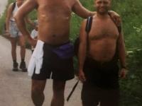 2000 08 12 Jahnwanderung Ternberg mit Freund Hans Leeb