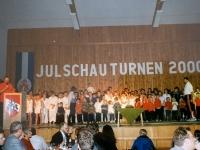 2000 12 02 Julschauturnen Feierlicher Ausklang
