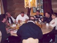 2004 01 04 SZ Schifahren Schladming Essen Gruppenfoto