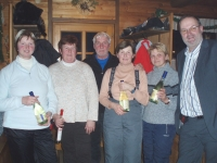 2009 01 08 Eisstock VM Rang 2 für die Kallhamer Damenriege