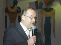 2009 01 31 Ballnacht Begrüssung durch Obmann Gerald Stutz
