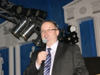 2010 01 30 Ballnacht Begrüssung durch Obmann Gerald Stutz