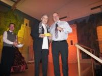 2012 01 28 Ballnacht 2. Preis für den Rathausstüberlwirt