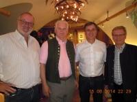 2014 08 15 Jahnwanderung Hallstättersee_Abendessen bei Klaus Schweiger