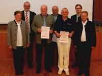 2014 03 21 JHV ÖTB Neumarkter TV: Ehrung für 40-jährige Mitgliedschaft