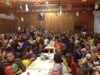 2014 12 06 Julschauturnen - Turnerheim wie immer voll