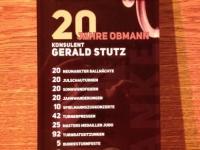 2014 12 06 Julschauturnen - Glasschild als Geschenk des Vereines für 20-jährige Obmannschaft