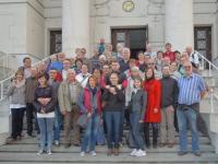 2014 10 11 Angestelltenausflug Wien Zentralfriedhof Lueger Kirche