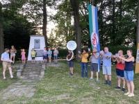 2021 06 19 Sonnwendfeier mit 100 Jahr Jubiläum des Turnerdankmals SZ Bläser