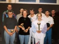 1994 11 19 ÖAAB Kallham Tischtennismeisterschaft Siegerehrung