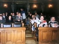 1995 11 25 ÖVP Kallham Parlamentsbesuch Wien Bundesratssaal