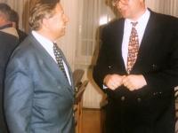 1998 03 04 ÖAAB Bez Konferenz R_Saal Grieskirchen mit Generalsekr Walter Tancsits