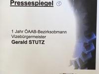 2001 03 09 Pressespiegel Nr 1 als ÖAAB Bezirksobmann