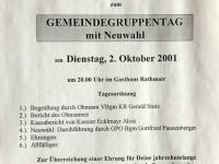 2001 10 02 ÖAAB Gemeindegruppentag Kallham