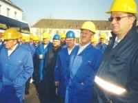 2003 02 28 ÖVP Kallham Ausflug AMAG Ranshofen mit Hans Willinger