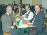 2003 Mostkost in Kallham mit Pfarrer Kreindl