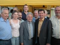 2009-08-14-kallhamer-vorkirtag-besuch-lh dr. pühringer