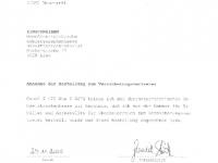 OÖ GKK 2001-2005 Annahme der Bestellung zum Versicherungsvertreter