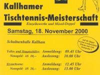 2000-11-18-öaab-tischtennis-ortsmeisterschaft-flugblatt