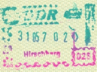 1987 05 31 DDR Hirschberg - Einreise