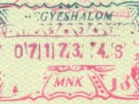 1987 07 17 Ungarn Hegyeshalom - Ausreise