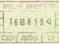 1988 09 16 Tschechoslowakei - Einreise