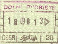 1988 09 18 Tschechoslowakei - Ausreise