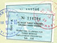 1993 07 25_31 Türkei Antalya - Ein und Ausreise