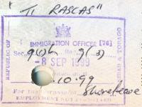 1999 09 08 Trinidad und Tobago - Einreise