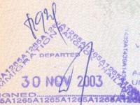 2003 11 30 Thailand Bangkok - Ausreise