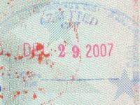 2007 12 29 USA Charlotte - Einreise