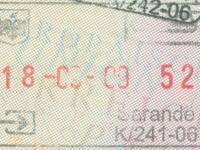 2009 09 18 Albanien Saranda - Einreise