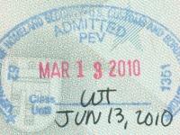 2010 03 13 USA Fort Lauderdale - Einreise