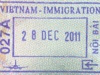 2011 12 28 Vietnam Hanoi - Einreise