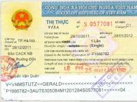2011 12 28 Vietnam - Visum