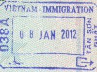 2012 01 08 Vietnam Ho Chi Minh City - Ausreise