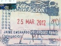 2012 03 25 Guatemala - Einreise