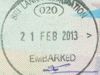 2013 02 21 Sri Lanka - Ausreise