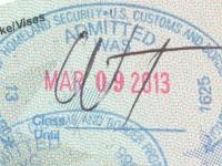 2013 03 09 USA - Einreise