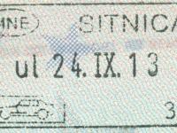 2013 09 24 Montenegro - Einreise