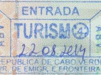 2014 08 22 Kap Verden Boa Vista - Einreise
