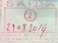 2014 08 29 Kap Verden Boa Vista - Ausreise