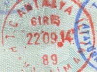 2014 09 22 Türkei Antalya - Einreise
