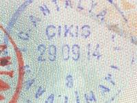 2014 09 29 Türkei Antalya - Ausreise