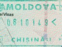2014 10 08 Moldawien Chisinau - Einreise